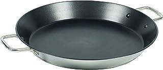 Callaway Paellera de INOX Antiadherente, 36 cm, Acero Inoxidable, Plateado/Negro