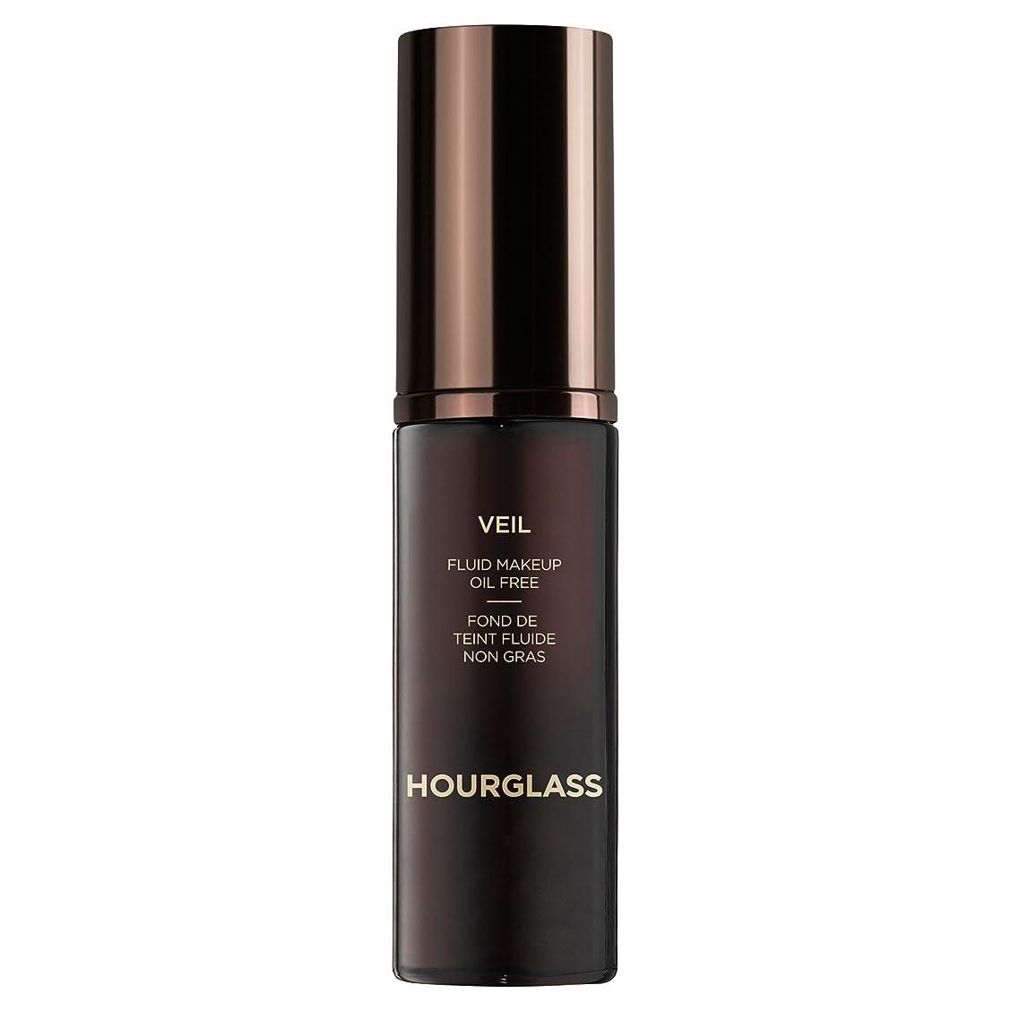 より照らす楽観的クロテン砂時計ベール流体メイクアップ (Hourglass) - Hourglass Veil Fluid Makeup Sable [並行輸入品]