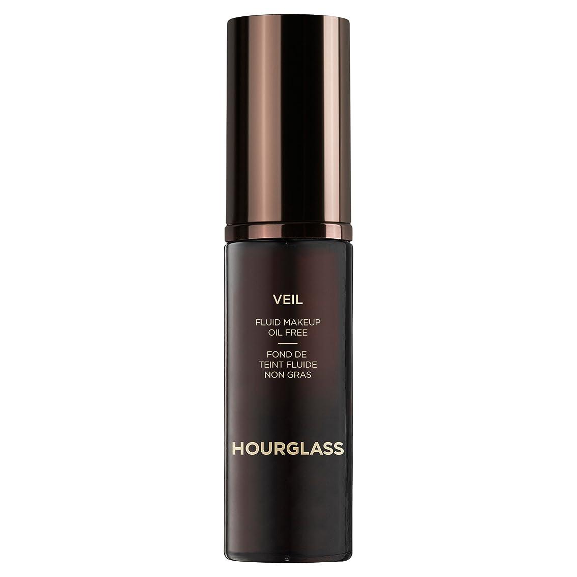 執着荒野フラッシュのように素早くクロテン砂時計ベール流体メイクアップ (Hourglass) (x6) - Hourglass Veil Fluid Makeup Sable (Pack of 6) [並行輸入品]