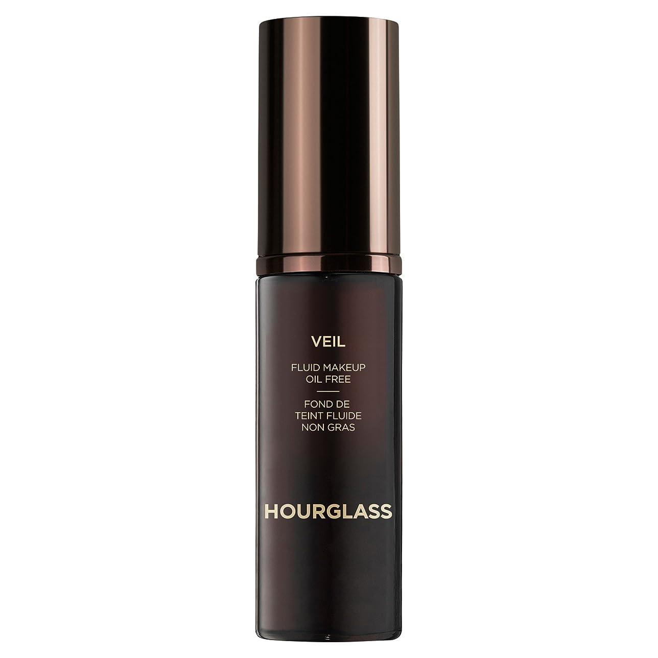 局脚本家大工砂時計のベール流体化粧クルミ (Hourglass) (x2) - Hourglass Veil Fluid Makeup Walnut (Pack of 2) [並行輸入品]