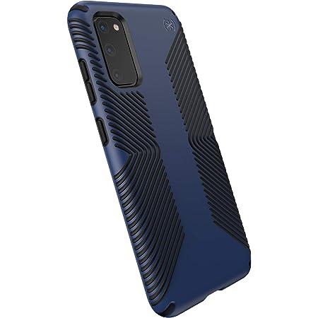 Speck Products Presidio Grip Samsung Galaxy S20 Case, Coastal Blue/Black (136313-8531)