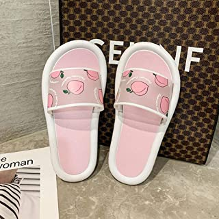 N-A Man Slippers,Ladies Slippers, Summer All-Match Sandals And Slippers-Pink_40-41,Novelty Slippers For Men,Sliper Stylish