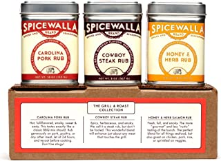 Spicewalla Grill Seasoning 3 Pack | Pork, Steak, Chicken & Vegetables | Barbeque Spices and Seasonings Set 3 Pack