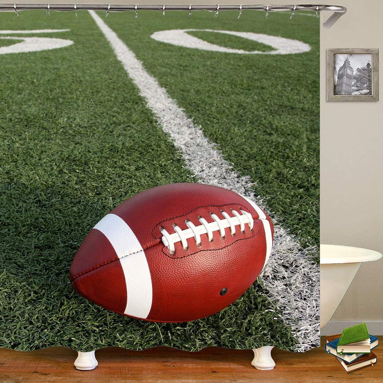 Smntt Badezimmervorhang Hd 3D Digitalkugel Drum Druck Wasserdicht 180  200CM B07QD6WJBV Attraktive Mode | Hohe Sicherheit
