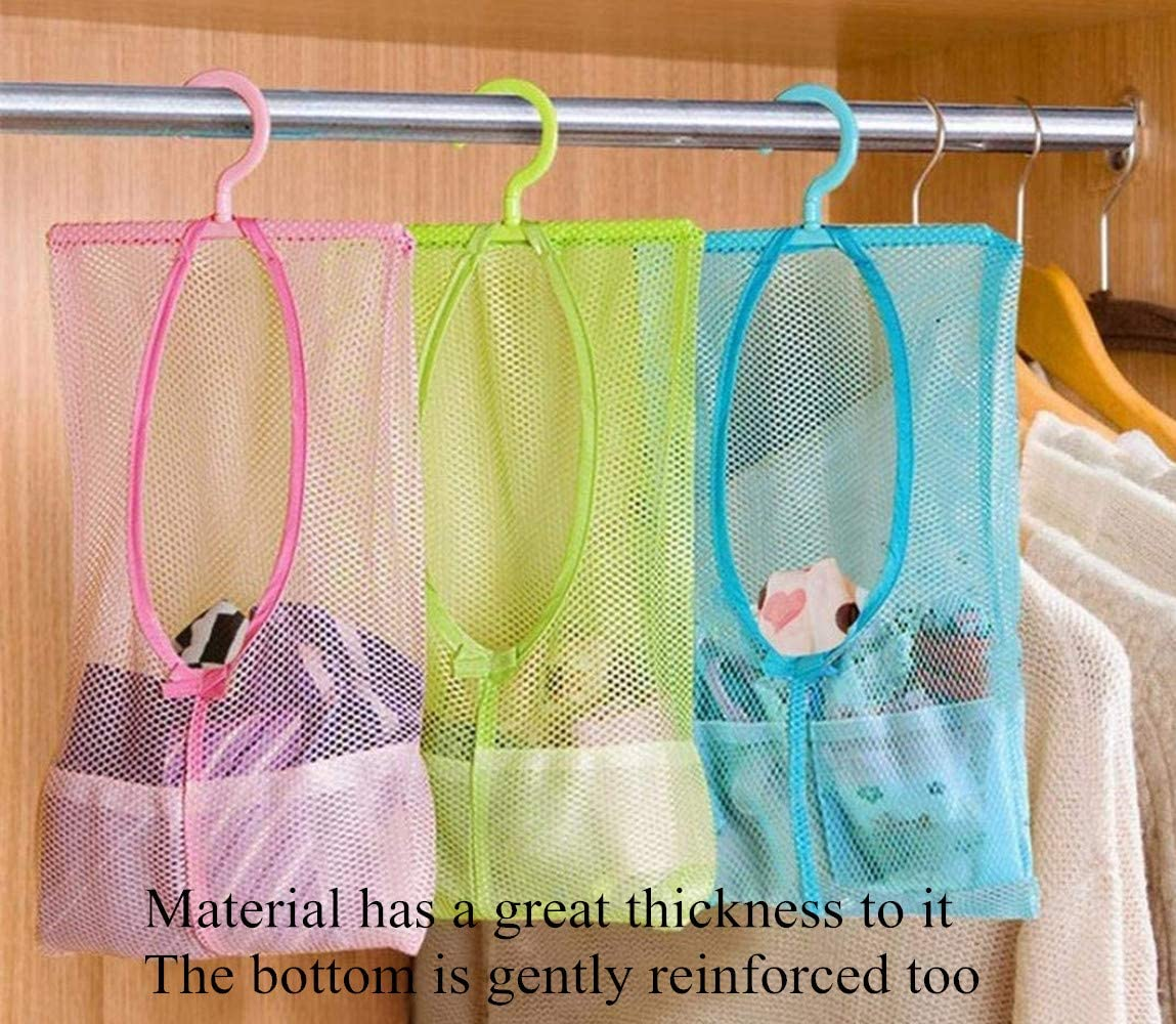 DurReus Multipurpose Clothespin Bag with Mesh Free shipping anywhere in the nation Hanger Hanging Ranking TOP19 Dry