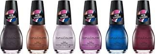 SinfulColors New Shades Nail Polish Collection, Pack of 6 (Street Legal, Hot Toffee, Spring Fling, Violent Riot, Show & Teal, Raisin The Roof)