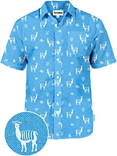a883e444b33d Men s Bright Hawaiian Shirt for Spring Break and Summer - Funny Aloha Shirt  for Guys