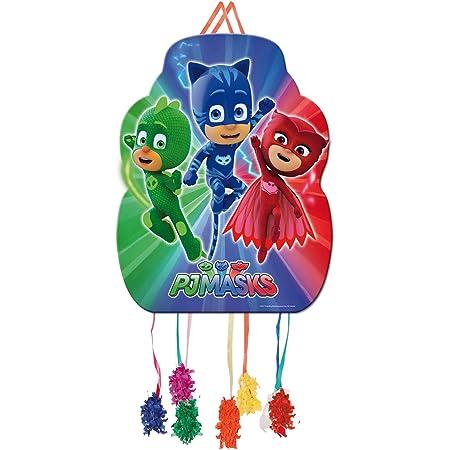 PJ Masks 0848, Piñata Perfil, Multicolor, para Fiestas y cumpleaños, Dimensiones: 33x46 cms