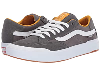 Vans Berle Pro (Pewter/Mango Mojito) Skate Shoes