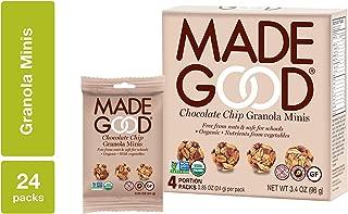 MadeGood Chocolate Chip Granola Minis (24 Count)
