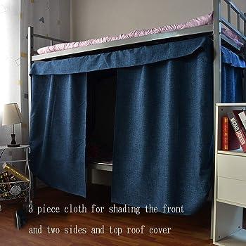 dormitorios privacidad dormitorios etc. Mosquitera para cama individual a prueba de polvo para cama o cama de estudiantes