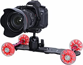 Movo Photo CD200 Professional Cine Skater Table Dolly Video Stabilizer for DSLR Video Cameras - Long Version