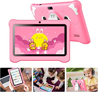 Tablet per Bambini with WiFi Schermo IPS 7 Pollici Android 10.0 GMS Certificato, Kids Tablet con WiFi 3 GB RAM e 32 GB Rom...