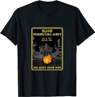 Disco demolition night, Comiskey Park, Chicago, IL