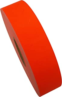 Amram 1 Line Price Marking Labels, Fluorescent Red, 1 Sleeve of 20,000 Labels (8 Rolls, 2,500 Labels Per Roll) for Monarch 1131. Includes 1 Replacement Ink Roller