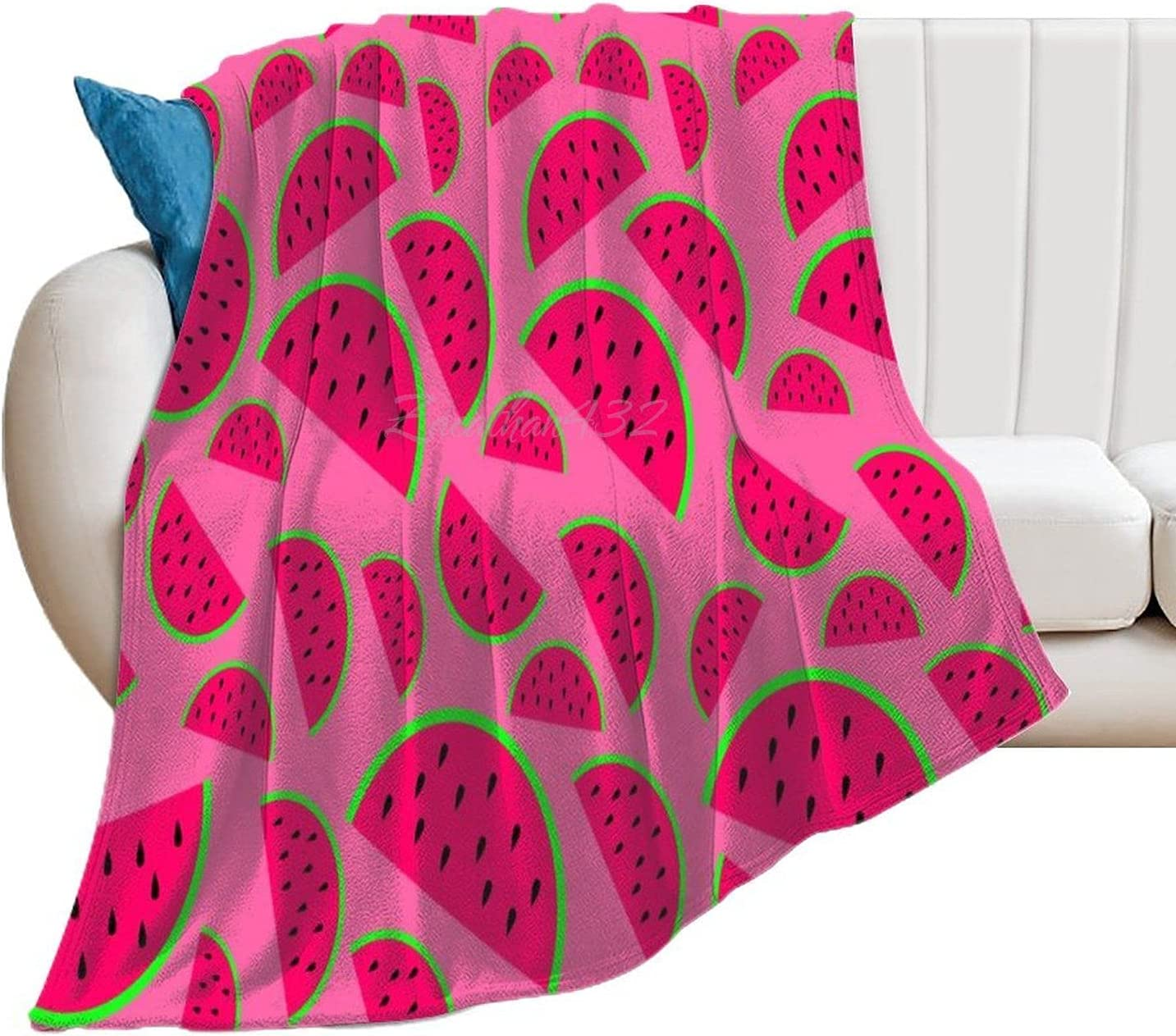 Novelty Plush Blanket Carpet Watermelon Long-awaited Throw Outlet ☆ Free Shipping Pattern