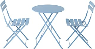 metal french cafe chairs