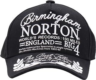 [ノートン] Norton 帽子 キッズ 月桂樹 キャップ 183N8730 ブラック 子供用