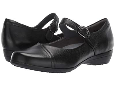 Dansko Fawna (Black Milled Nappa) Women