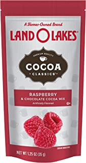 Land O Lakes Cocoa Classics, Raspberry & Chocolate Hot Cocoa Mix, 1.25-Ounce Packets (Pack of 36)