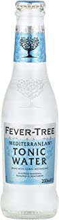Fever-Tree Mediterranean Tonic Water, No Artificial Sweeteners, Flavourings or Preservatives, 6.8 Fl Oz (Pack of 24)
