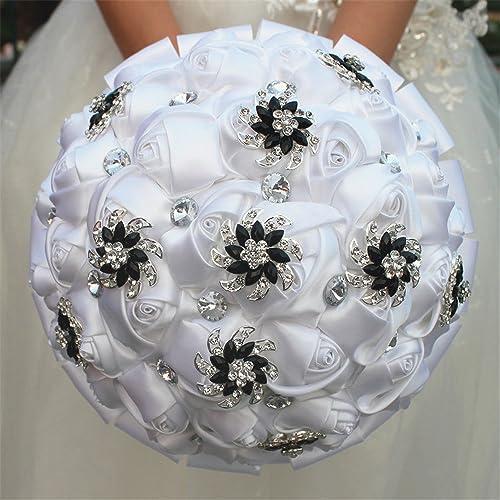 Black And White Wedding Bouquets Amazoncom