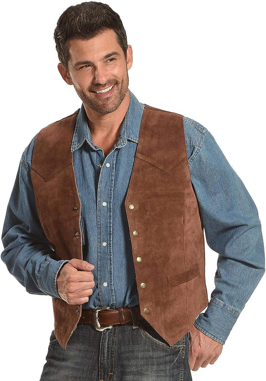 Roper Men's Suede Vest - 02-075-0500-0510 Br