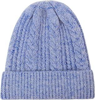 Wool Acrylic Slouchy Beanie Hat, Warm Cozy Cashmere Feeling