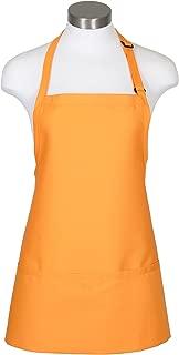 Fame Fabrics 82612 F10 3 Pocket Adjustable Neck Bib Apron, Mango