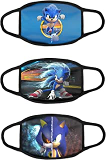 Sonic Anime Girls Cloth Mask Bandana Face Protective Neck Gaiter Dust Scraf StyleF