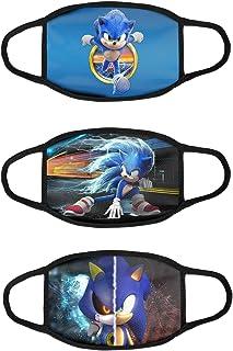 Sonic Anime Girls Cloth Mask Bandana Face Protective Neck Gaiter Dust Scraf StyleF