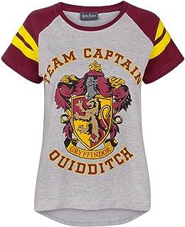HARRY POTTER - Camiseta Modelo Quidditch Team Captain para Mujer