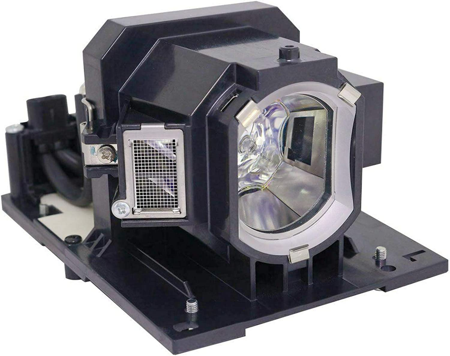 Rembam DT01931 Projector Replacement Compatible Lamp with Housing for Hitachi CP-X5550 CP-X5555 CP-WX5500 CP-WX5505 CP-WU5500 CP-WU5505