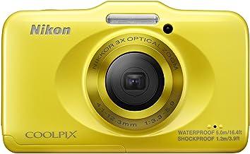 Nikon デジタルカメラ COOLPIX S31 防水5m 耐衝撃1.2m イエロー S31YW
