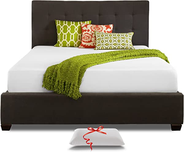 Live And Sleep Queen Mattress Memory Foam Mattress 10 Inch Cool Bed In A Box Medium Firm Includes Premium Foam Pillow CertiPur US Certified Queen Size