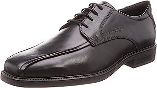 Geox Men's Brandolf 4 Bike Toe Oxford Dress Shoes