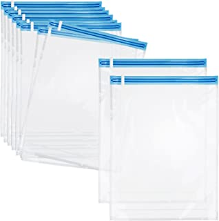 Love-KANKEI 圧縮袋 衣類圧縮袋 Lサイズ 10枚組 掃除機不要 防塵防湿 防虫防カビ 繰り返し使用出来 衣替え収納/旅行/引越し/出張/家庭