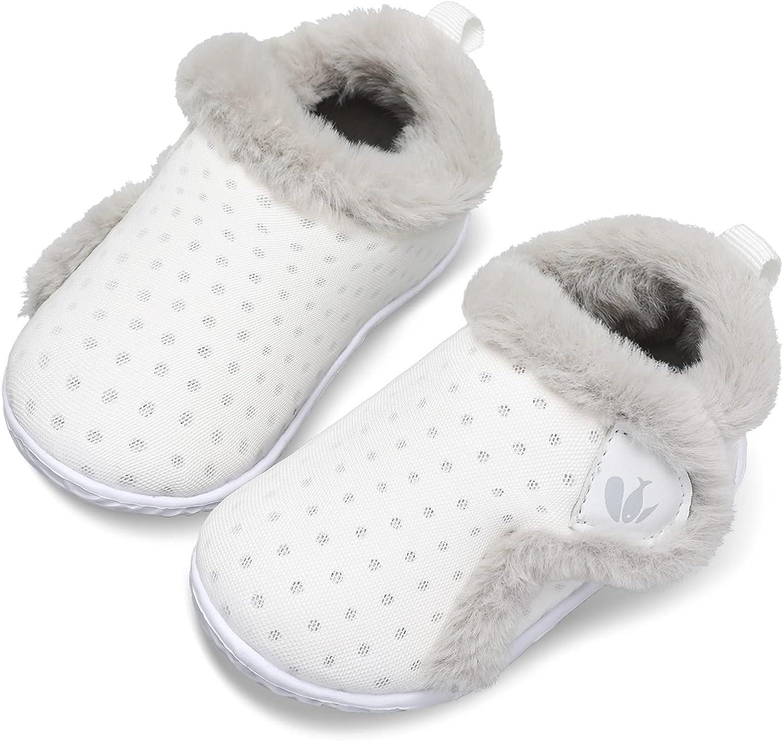 JIASUQI Kids Girls Boys Winter Bargain sale New color Warm Slippers Cozy Plush Sh House