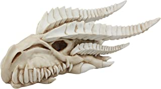 Ebros Large Dragon Fossil Skull Statue Or Wall Decor 14.5