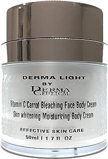 Vitamin C Carrot Bleaching Face Body Cream skin whitening Moisturizing Body Body Milk
