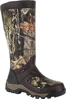Men's Sport Pro Waterproof Side-Zip Snake Boot Knee High