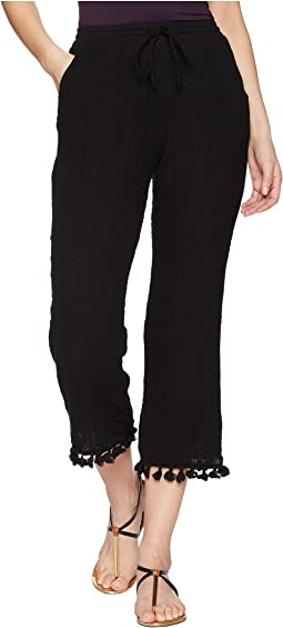 Michael Stars - Double Gauze Pull-On Pant with Tassels
