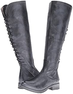 Boots, Full-grain Leather, Women, Knee High | Shipped Free at Zappos