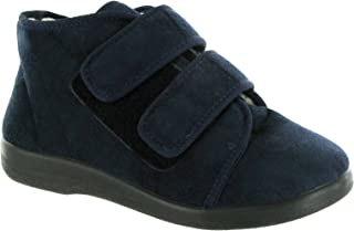 Gbs Medium - Navy - Touch Fastening Unisex Slippers - Size 36 37 38 39 40 41