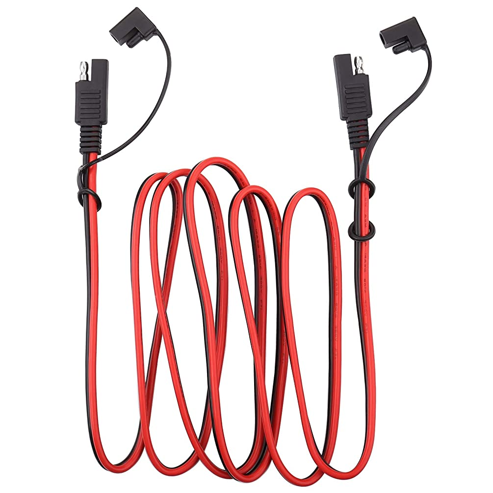 iGreely SAE Power Automotive Extension Cable SAE to SAE Extension Cable Quick Disconnect Wire Harness SAE Connector 14AWG 4M/13FT