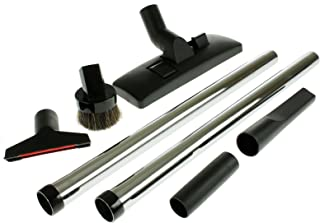 First4Spares Deluxe Universal Vacuum Cleaner Tool Kit for Canister & Upright Vacuum Cleaners (32mm - 1 1/4
