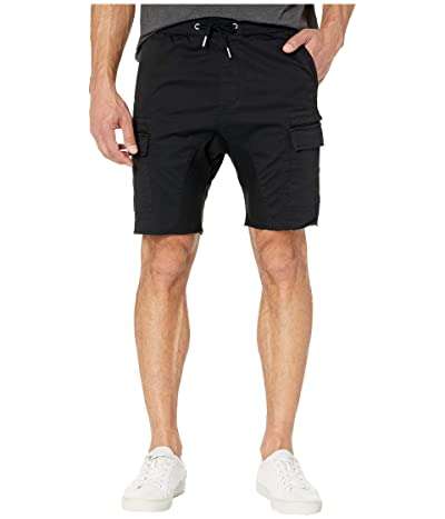 Zanerobe Sureshot Lite Cargo Shorts (Washed Black) Men