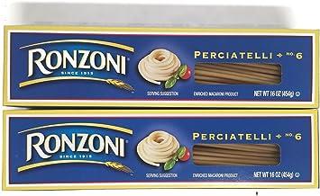 Ronzoni Perciatelli No. 6 Spaghetti Pasta, 1 lb. Boxes (Set of 2)