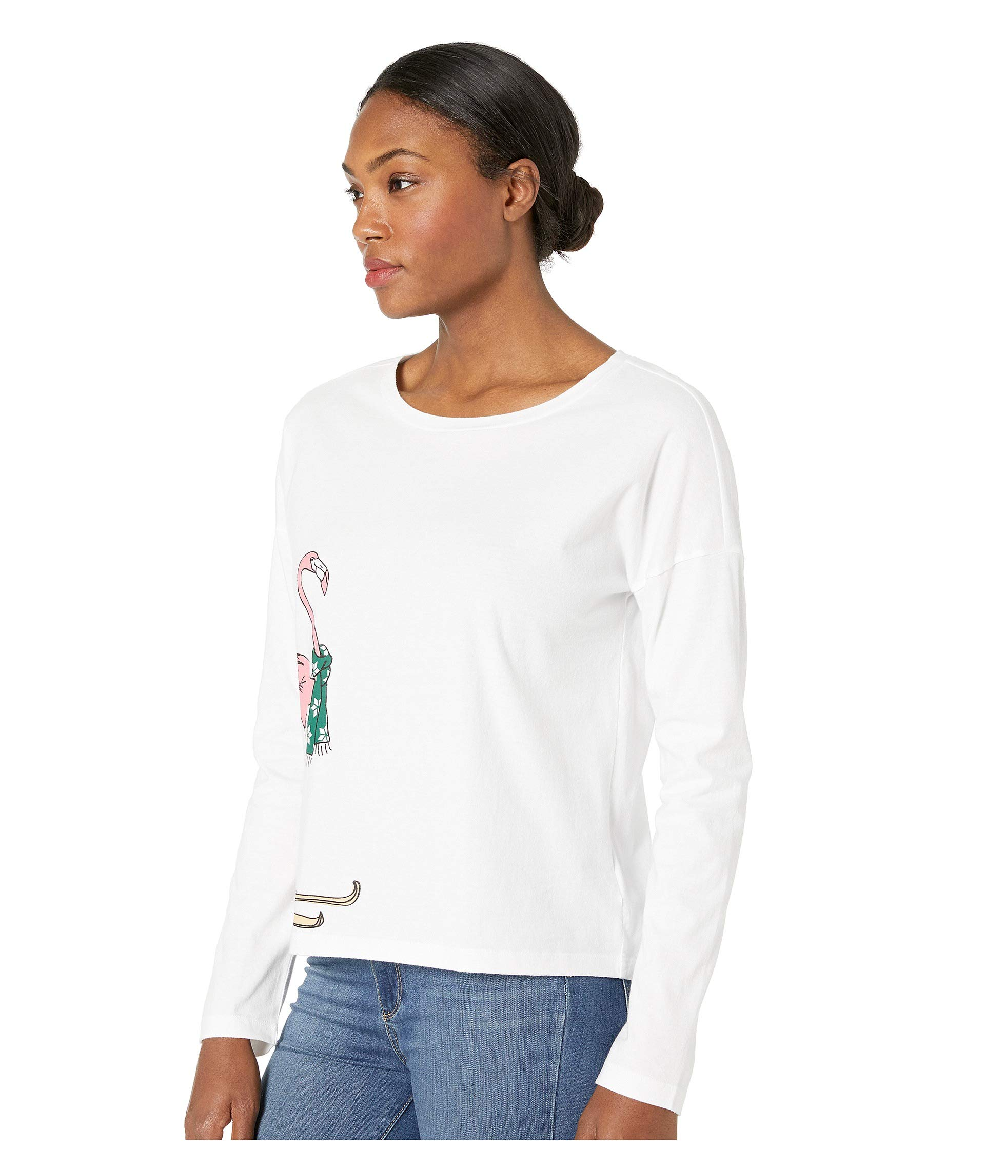 Life Snuggle Good Is White Relaxed Long Up Sleeve Cloud r6Er1wq