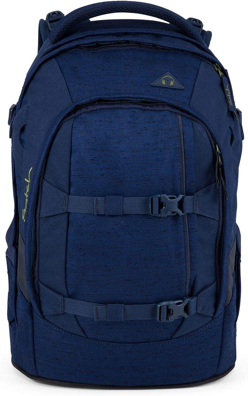 Satch SET 4 teilig Ocean dive Schulrucksack Pack, Schlamperbox, Sporttasche, Regenhülle blue 4251562100226Schoolbag Set bluee bluee Satch Pack